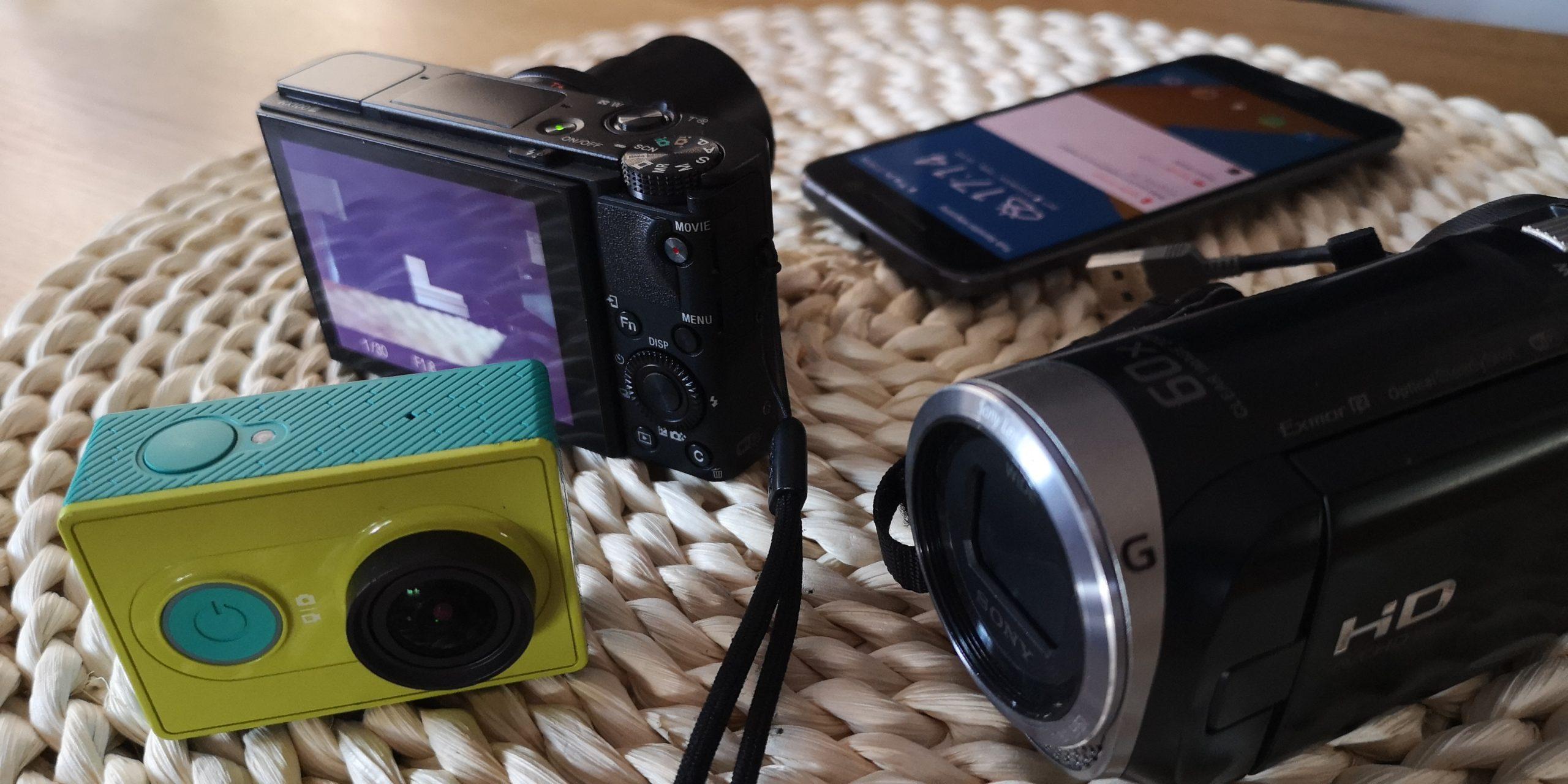Different image sensor sizes - comparison